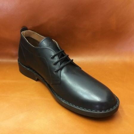 38 calzatura artigianale mezza stagione nera b007a256e3b